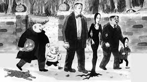 addams family sketch